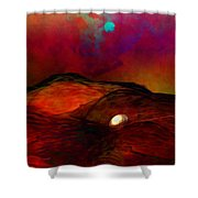 Hard Landing Shower Curtain