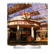 Hard Rock Cafe At Union Station Shower Curtain