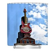 Hard Rock Cafe - Baltimore Shower Curtain