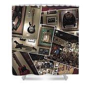 Hard Rock Cafe Hollywood Florida Shower Curtain