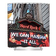 Hard Rock Cafe New York Shower Curtain