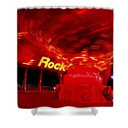 Hard Rock Hard Ride Shower Curtain