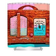 Hard Rock Maple Shower Curtain