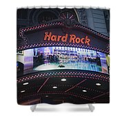 Hard Rock Marquee Nyc Shower Curtain