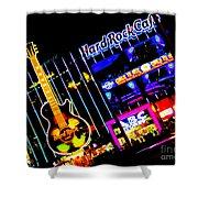 Hard Rock Vegas Shower Curtain