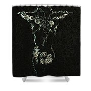 Hard Wired Shower Curtain