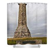 Hardy Monument Shower Curtain
