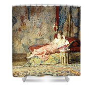 Harem Beauty Shower Curtain by Alexandre Louis Leloir