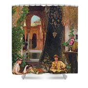 Harem Women Shower Curtain