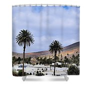 Haria On Lanzarote Shower Curtain
