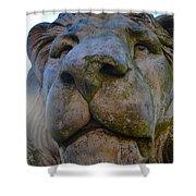 Harlaxton Lions Shower Curtain