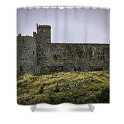 Harlech Castle Shower Curtain