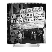 Harlem's Apollo Theater Shower Curtain