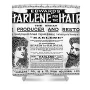 Harlene For The Hair, 1897 Shower Curtain