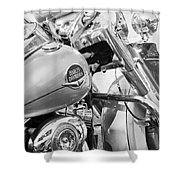 Harley Abstract Shower Curtain