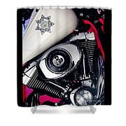Harley Cop 2 Shower Curtain