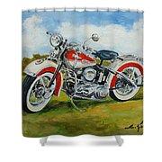 Harley Davidson 1943 Shower Curtain