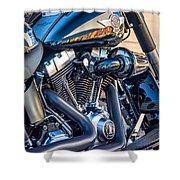 Harley Davidson 2 Shower Curtain