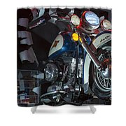 Harley Of Vegas Shower Curtain