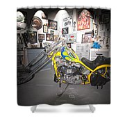 Harley Operating Room Shower Curtain