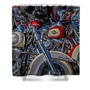 Harley Pair Shower Curtain