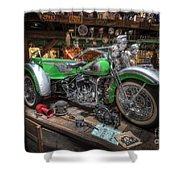 Harley Trike Shower Curtain