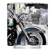 Harley Wtc Shower Curtain