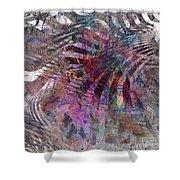 Harmonic Resonance - Square Version Shower Curtain