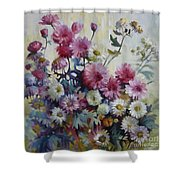 Harmonies Of Autumn Shower Curtain