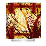 Harmonious Colors - Sunset Shower Curtain