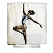 Harmony And Light Shower Curtain by Richard Young