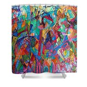 Harmony Despite Differences 1 Shower Curtain