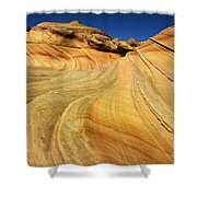 Harmony Of Stone And Light 1 Shower Curtain