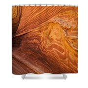 Harmony Of Stone And Light 2 Shower Curtain