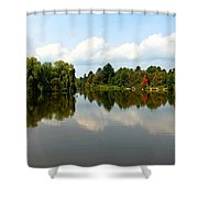 Harmony On The Boyne River Shower Curtain