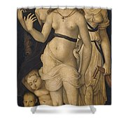 Harmony Or The Three Graces Shower Curtain