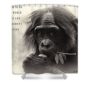 Harmony With Nature Shower Curtain