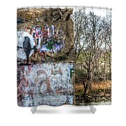 Harms Dam Number 9 Shower Curtain
