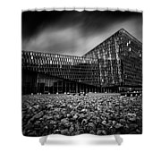 Harpa Shower Curtain