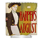 Harpers August 1897 Shower Curtain