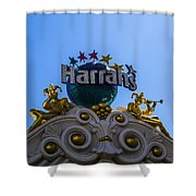 Harrahs Shower Curtain