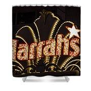 Harrahs - Las Vegas Shower Curtain