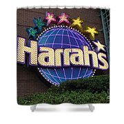 Harrahs Of New Orleans Shower Curtain