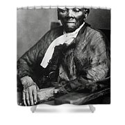 Harriet Tubman  Shower Curtain by American School