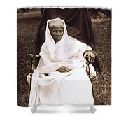 Harriet Tubman Portrait 1911  Shower Curtain
