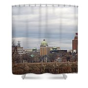 Harrisburg City Shower Curtain