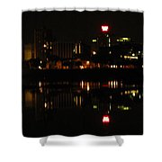 Harrisburg Night Lights Shower Curtain