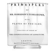 Harrison Timekeeper Shower Curtain