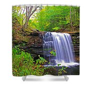Harrison Wright Early Fall Shower Curtain