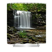 Harrison Wright Falls Shower Curtain